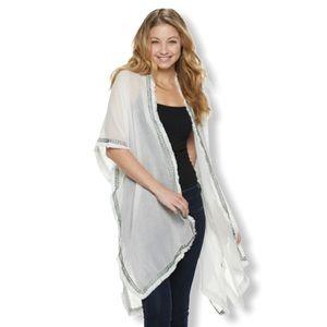 Mudd Boho Breezy Tunic Kimono